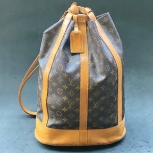 LOUIS VUITTON Randonnee GM monogram bag